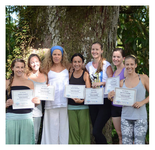 Yoga graduates